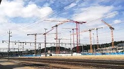 Wetter und Baustelle und Eisenbahn Bülach 60 Min. in 33 Sek.