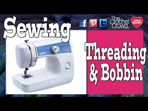 How To Thread Bobbin On Brother LS 40 Sewing Machine YouTube Amazing Brother Sewing Machine Ls2125