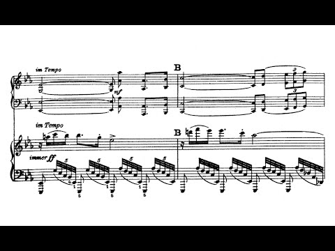 Hans Pfitzner - Piano Concerto Op. 31 (audio + sheet music)