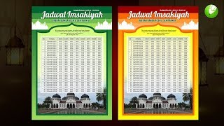Download Video Cara Membuat Poster Ramadhan Imsakiyah 1439 H - Coreldraw MP3 3GP MP4