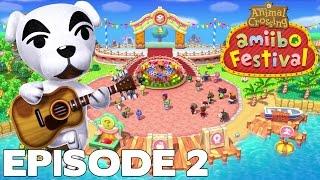 Let's Play Episode 2 : ANIMAL CROSSING AMIIBO FESTIVAL FR Nintendo Wii U