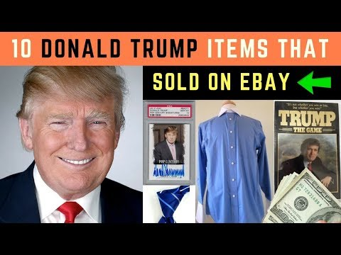 The Most Profitable Items To Sell on Ebay | Donald Trump Ties 🇺🇸