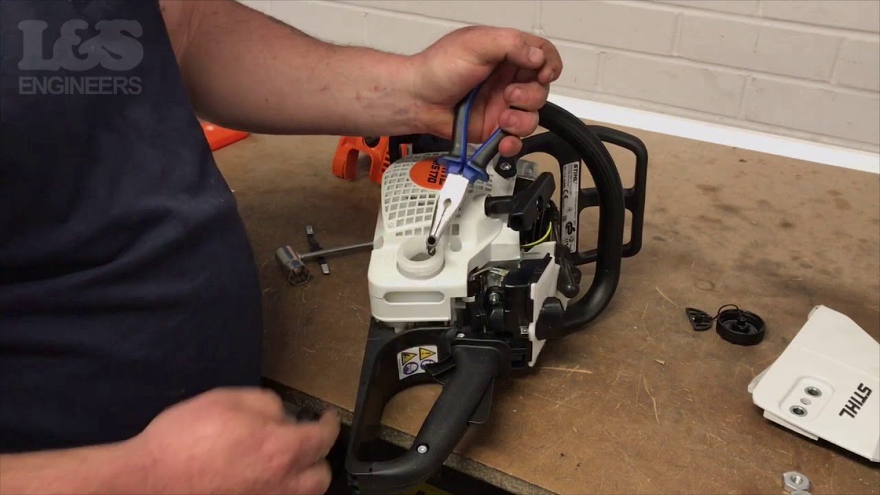 medium resolution of how to change a fuel filter on a stihl ms170 chainsaw l s engineers