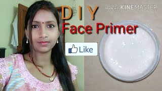 How to make Face primer of  makeup primer