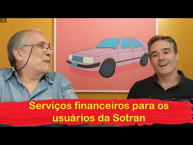 Produtos financeiros e outros serviços da Sotran - MTED