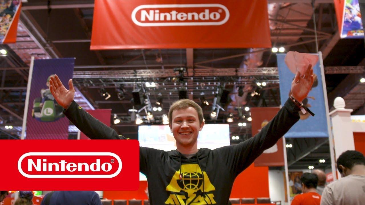 Nintendo social competitive events 2018