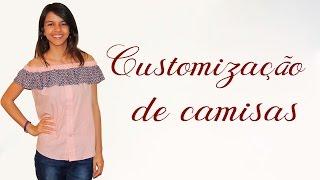 Customização de camisas