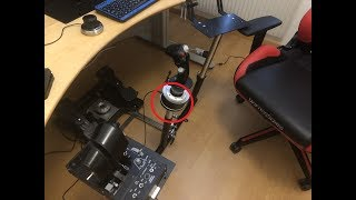 support universel wheel stand pro pour thrustmaster hotas warthog