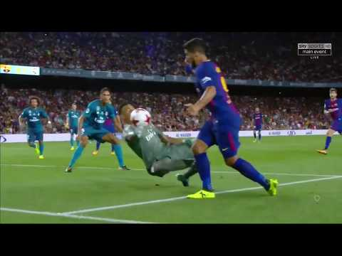 Barcelona vs Real Madrid 1 3   All Goals & Highlights   13 08 2017 HD