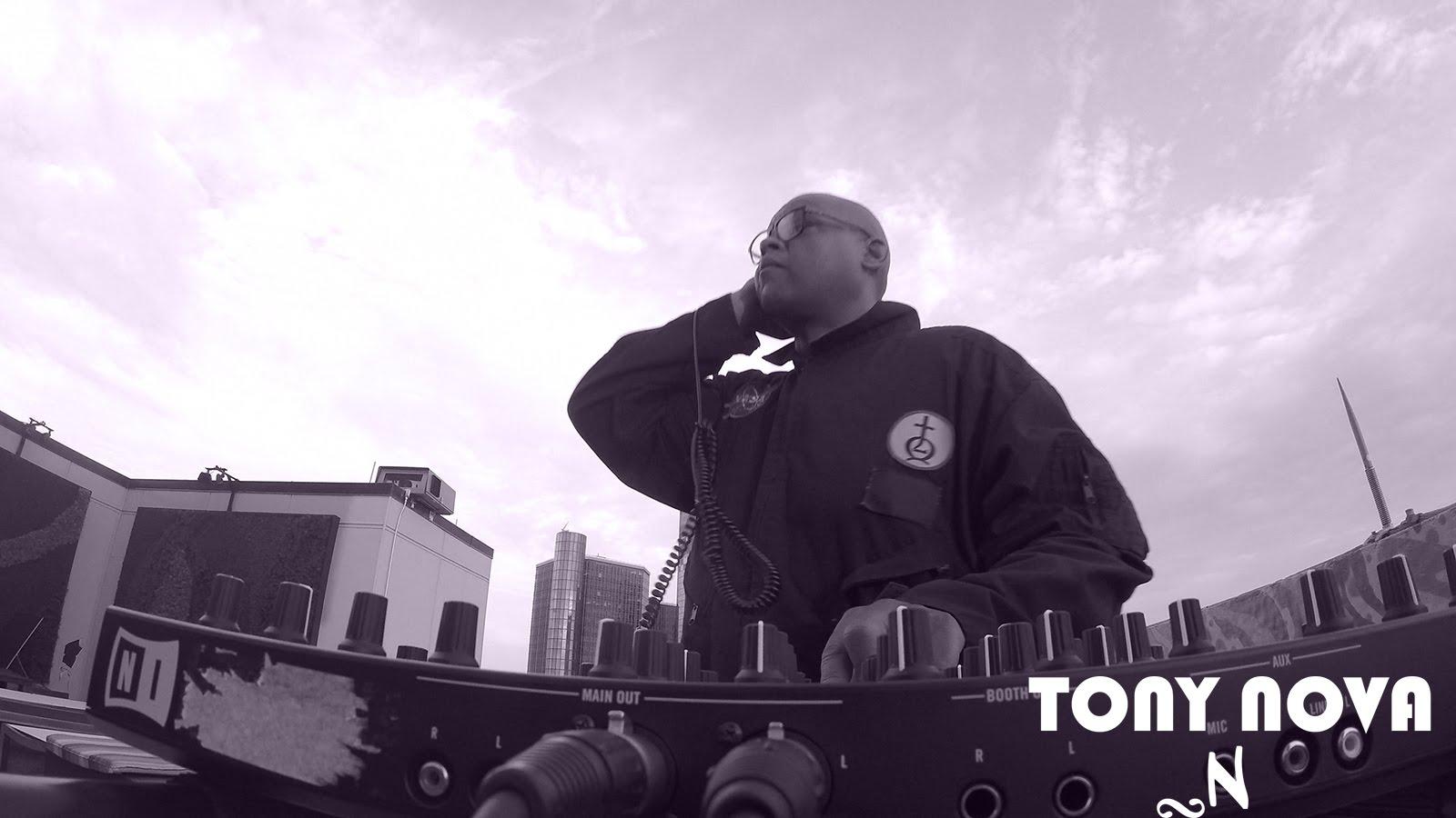 Tony nova dj mix live stream house music detroit techno for Detroit house music