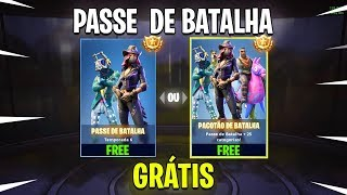 "I FREED THE BATTLE PASS OF ""GRACE"" FROM SEASON 6-FORTNITE"
