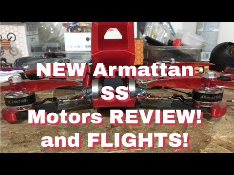 NEW Armattan SS 🔥 Motor REVIEW!