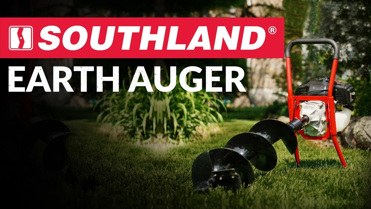 Earth Auger (SEA43 / SEA438) | Soil Preparation Products