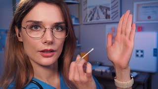 ASMR: Cranial Nerve Examination - Traditional Role Play - Relaxing Personal Attention