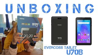 TABLET EVERCOSS U70 QUADCORE RAM 3GB 32GB 7inci ANDROID