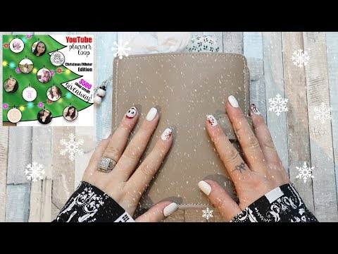 CHRISTMAS PLANNER SETUP COLLAB   FOXYFIX PERSONAL WIDE RINGS   $500 GIVEAWAY!! ***CLOSED***