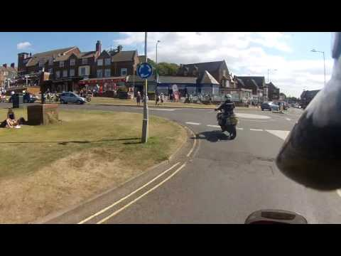 A Ride Along Hunstanton Seafront in Norfolk