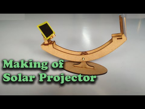 Making Of Solar Projector | Safe Device To See Solar Eclipse