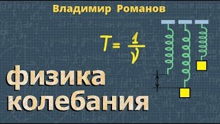 КОЛЕБАНИЯ решение задач физика 9 класс Романов