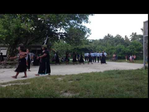White Ribbon Day in Butaritari, Kiribati