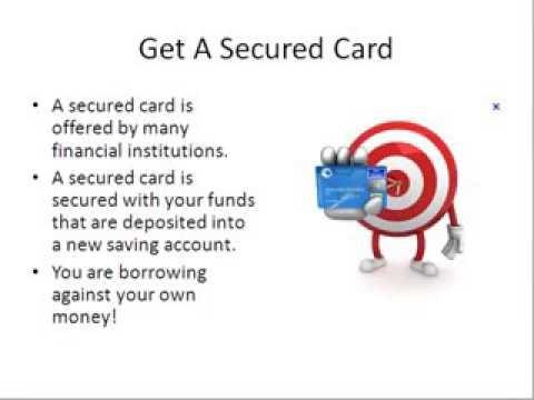 Będą zabezpieczone karty kredytowej podnieść mój wynik