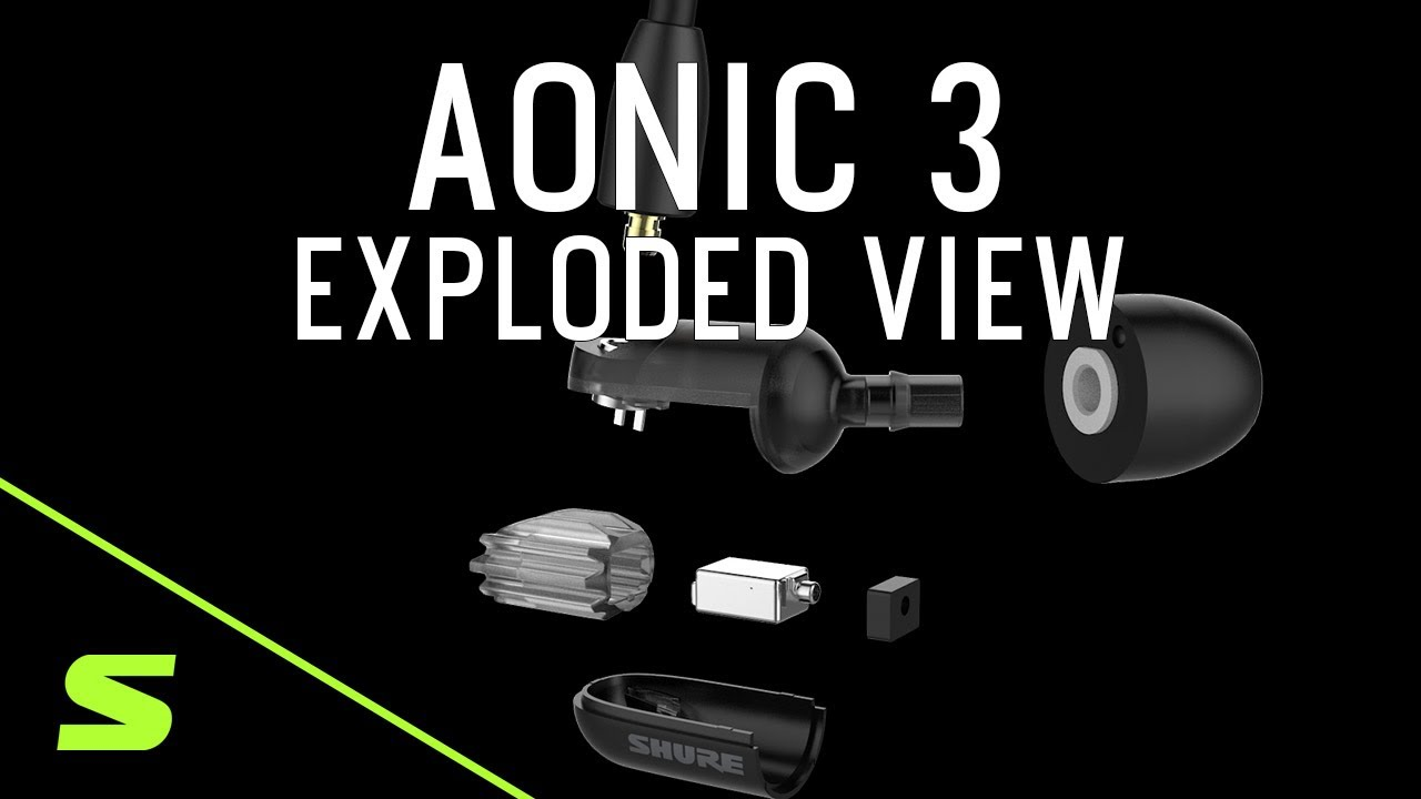 AONIC 3 // Sound Isolating Earphones (Black) video thumbnail