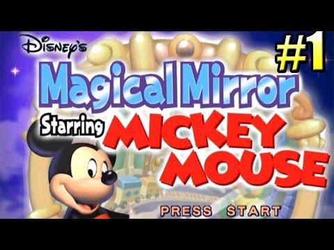 Микки Маус и Магическое Зеркало {GC} часть 1 — Приключение в Зазеркалье