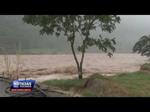 PC Táchira reporta crecida en caudales de Río Torbes, Río Frío y otros de Zona Sur