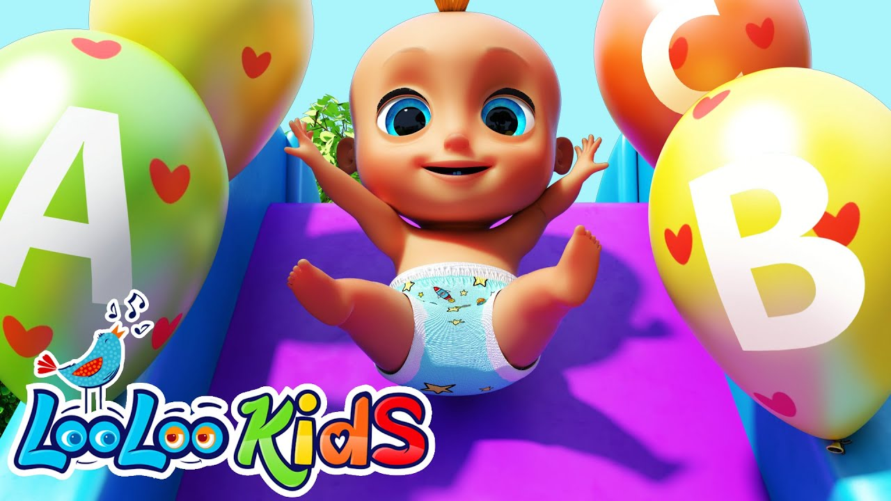 ?ABC SONG? | Learn alphabet with Johny - LooLoo Kids Nursery Rhymes