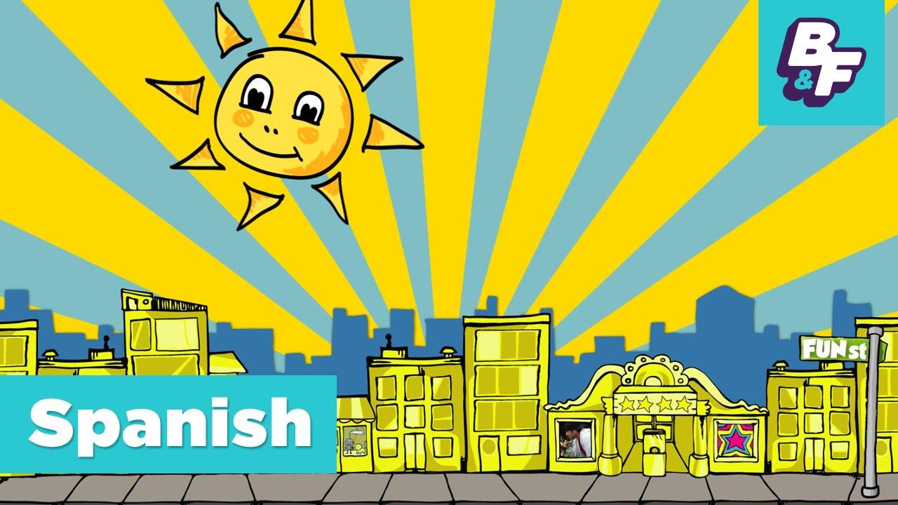 Spanish Goodbye Song with BASHO & FRIENDS - Hasta Mañana - YouTube