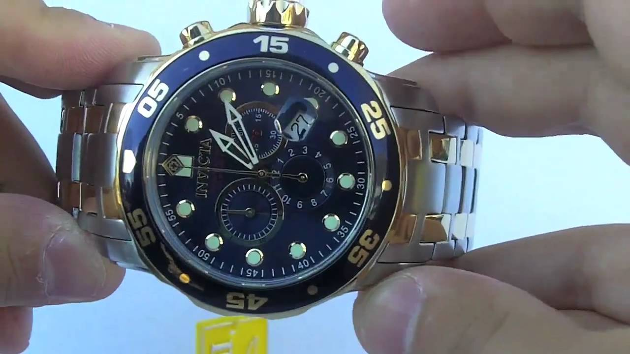 invicta watch men s 0077 s pro diver collection chronograph invicta watch men s 0077 s pro diver collection chronograph