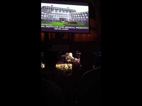 Prof Stephen Hawking lecture