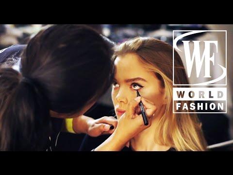 Backstage Marchesa Spring-Summer 2015 London Fashion Week