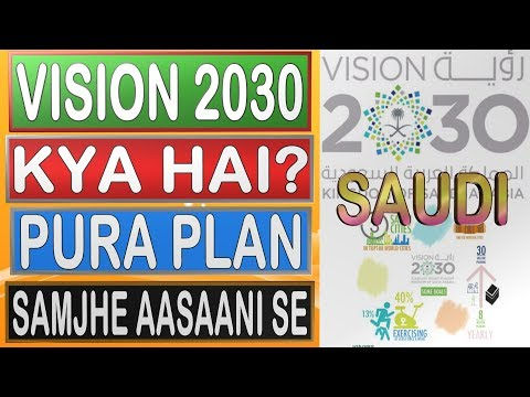 Vision 2030 Of Saudi Arbia, Understand Easily || Hindi/Urdu || Saudi Arabia || Gulf Life