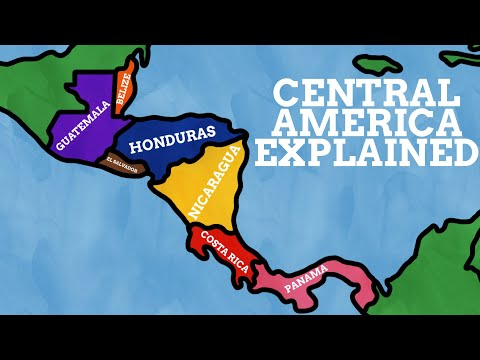 The Names Of Central America Explained