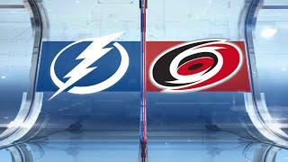 NHL Highlights   Lightning vs Hurricanes – Jan. 5, 2020
