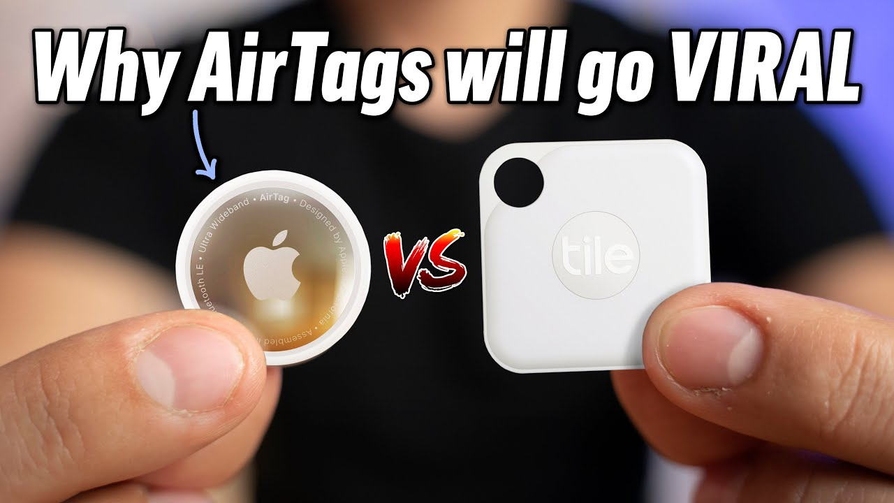 Download AirTags vs Tile Trackers - Did Apple Just BANKRUPT Tile?