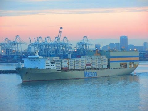 Trains and Ships in the East Ports of Long Beach 7-11/18-15