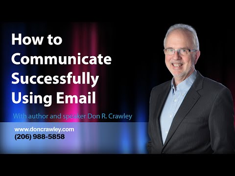 How To Communicate Successfully Using Email: Customer Service Training