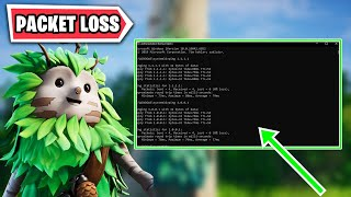 HOW TO SOLVE FORTNITE PACKET LOSS PROBLEM? (Fortnite Turkish)