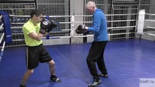 Бокс: атака-вызов и почтальон (English subs)