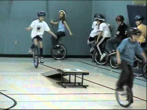 Endeavour Intermediate School Rollin' Rockets Unicycle Presentation