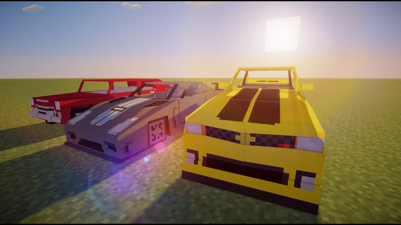 Minecraft Sports Car Mod