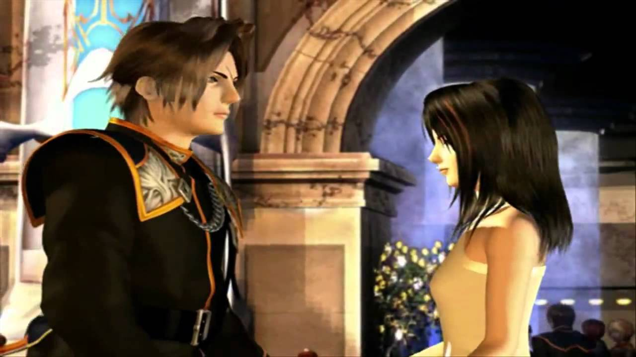 Final Fantasy VIII - Squall and Rinoa Ballroom Dance Scene HD ... Final Fantasy Rinoa And Squall