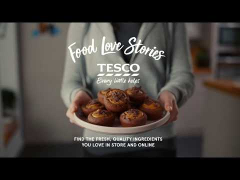 Tesco Food Love Stories | Alice's 'Peacemaking' Cupcakes