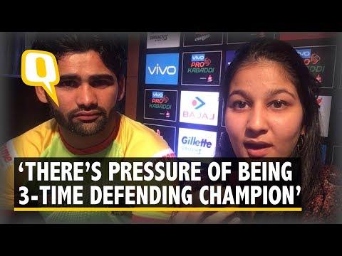 Defending Champions Patna Pirates' Captain Pardeep Narwal on Pro Kabaddi League 6   The Quint