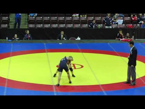 2014 Junior Pan-American Championships: 44 kg Augusta Eve (CAN) vs. Regina Doi (USA)