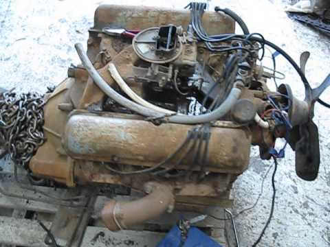 Ford 460 Intake Manifold FORD FE BIG BLOCK 332 TANK FAIRLANE ENGINE FIRE START UP ...