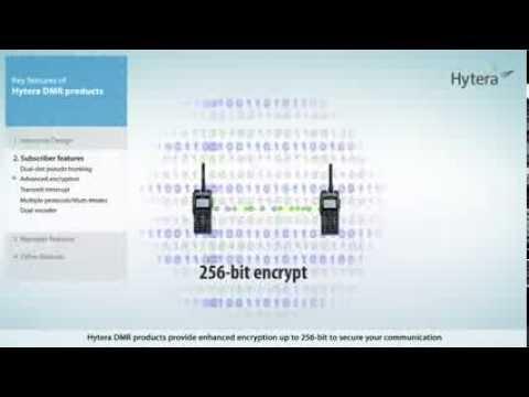 Hytera DMR 256 bit encryption