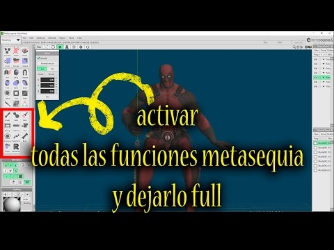 Descarga e instalación metasequoia 4.5.8 full